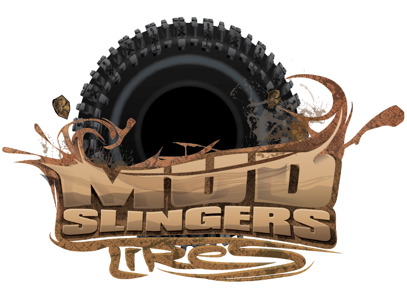 "Mud Slinger 2 XL Single 1.9"" Scale Tires"